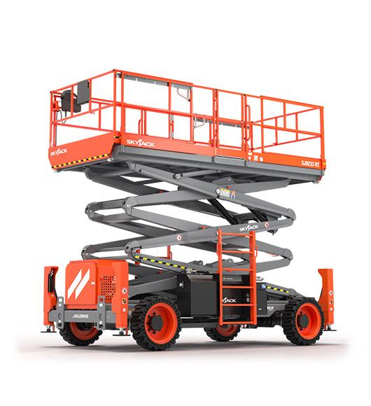 17 meter Skyjack Diesel